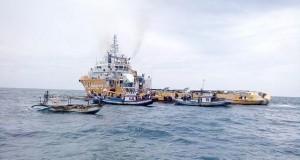 Konflik antara nelayan dengan Perusahaan M3nergy Gamma di wilayah Perairan Binuangeun masih terus berlanjut. (Foto: news.babe.co.id)