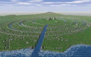 Ilustrasi Negeri Atlantis