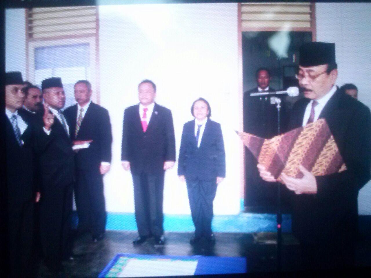 Kepala Bakamla RI Lantik Empat Pejabat Zona Maritim Wilayah Timur