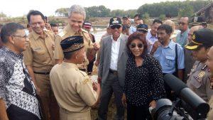 Kunjungan Menteri Susi di Jepara
