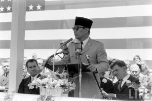 Bung Karno menantang dunia dalam pidato To Buiid the World A New