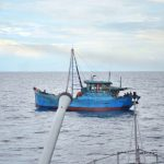 KRI Teuku Umar-385 Tangkap Pencuri Ikan Berbendera Vietnam