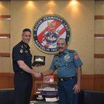 Kepala Bakamla RI Terima Kunjungan Commissioner Australian Border Force