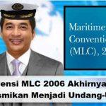 Pelaut Senior Sambut Ratifikasi MLC 2006 Menjadi UU Nomor 15 Tahun 2016