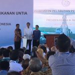 Presiden Resmikan Pelabuhan Perikanan Untia