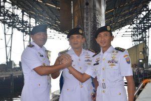 Serah Terima Komandan KRI Nanggala-402.