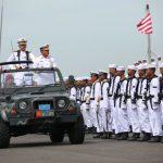 Kasarmartim Pimpin Upacara Hari Armada di Koarmatim