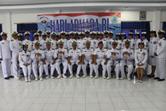 Foto bersama Lanal Yogyakarta setelah Upacara Hari Armada RI.