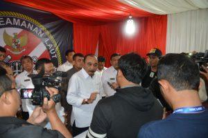 Kabakamla RI Laksdya TNI Arie Soedewo saat konferensi pers di kantor Bakamla RI, Jakarta (14/12/16). Foto: Humas Bakamla