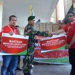 Pelindo I Salurkan Bantuan Bagi Korban Gempa Pidie Aceh