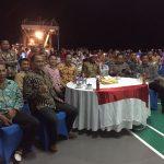 KRI Teluk Bintuni Gelar Nonton Bareng Final Piala AFF