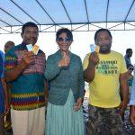 Kunjungi Morotai, Susi Pudjiastuti Himbau Masyarakat Tingkatkan Komitmen Menjaga  Laut