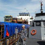 Operasi Nusantara IX Bakamla RI Tangkap Kapal Kargo Tanpa Daftar Manifest