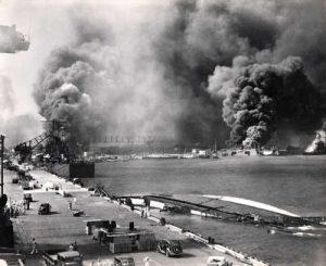 Suasana Pearl Harbour 7 Desember 1941