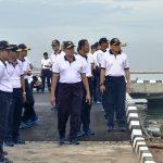 Sambut Pelaksanaan Peresmian KRI RE Martadinata-331, Komplek Satuan Koarmabar I Pondok Dayung terus Berbenah