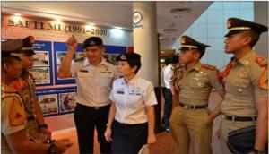 Kunjungan Taruna AAL ke Singapura.