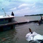 Koarmabar Laksanakan Evakuasi Kapal Karam di Perairan Kepri