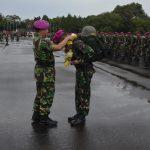 Satgas Bencana Alam Aceh Pidie Marinir TNI AL Akhiri Tugas