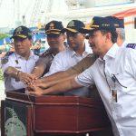 Tingkatkan Pelayanan Menuju Kepulauan Seribu, Menhub Resmikan KM Bahari Express
