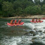 Pelepasan Kontingen Arung Jeram Sumatera Barat