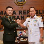 Panglima Angkatan Bersenjata Kerajaan Thailand Kunjungi Koarmabar