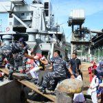 Operasi Rakata Jaya 2017, KRI Leuser-924 Amankan Perairan Barat Sumatera
