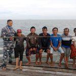 Koarmabar SAR Kapal Tenggelam di Perairan Kalimantan Barat