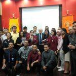 Kuliah Umum Geoffrey Till di Kampus UI, Jabarkan Konsep Pembangunan Negara Maritim