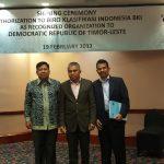Menyusul Mongolia, Timor Leste Berikan Otorisasi Penuh kepada BKI