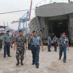Pulang AKS, KRI Surabaya 591 Kembali ke Pangkalan