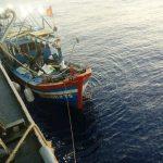 Guspurla Koarmabar Tangkap Lima KIA Vietnam Di Laut Natuna