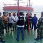Lagi, Tim WFQR Koarmabar Amankan Kapal Penjual BBM Illegal
