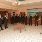 Laksda TNI Agus Setiadji melantik 4 Pejabat Eselon III Bakamla RI