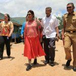 Panen Udang, Menteri Susi Himbau Pembudidaya Harus Cermat Dan Peduli Ekosistem