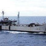 KRI Teluk Amboina 503 Angkut Yonif 142/KS
