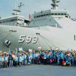 Kembali Dikunjungi Siswa Sekolah, KRI Banda Aceh 593 Mantapkan Diri Menjadi Duta Wawasan Kemaritiman