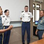 STTAL menerima Kunjungan Perwira US Army