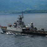 Koarmabar Tangkap Kapal Vietnam Dengan Muatan 2 Ton Ikan Hasil Ilegal Fishing