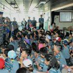 Kolinlamil berikan Wawasan Maritim kepada para Pelajar di KRI Banda Aceh-593