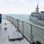 Taruna AAL Korps Pelaut Latihan Navigasi di KRI Ki Hajar Dewantara-364