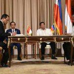 Deklarasi Bersama Konektivitas Davao – Bitung Ditandatangani Pemerintah Indonesia dan Filipina