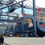 Kapal CMA-CGM Titus disambut Menteri Perhubungan di Pelabuhan Tanjung Priok