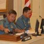 Wakasal Beri arahan kepada Peserta Latihan Siaga Tempur Laut di Koarmabar