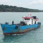 Guskamla Koarmabar berhasil mengamankan Kapal angkut tanpa dokumen bermuatan 30 ton Solar