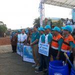 Gerakan Aksi Bersih di Cilincing, Menko Luhut Ajak Warga Perangi Sampah Plastik