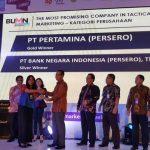 Pelindo 1 Peroleh Bronze Winner BUMN Markeeters Award 2017