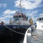 KN Ular Laut 4805 Bakamla RI Tangkap Kapal Nakal di Laut Arafura