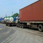 Apapun Sistemnya, Pelabuhan Tanjung Priok Butuh Buffer area Parkir Truk Petikemas