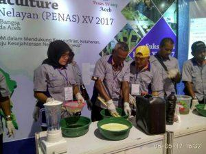 Expo Aquaculture di Penas XV yang digelar oleh KKP.