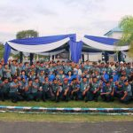 Pangarmabar Melaksanakan Kunjungan Kerja dan Buka Bersama dengan Seluruh Prajurit Lanal Bengkulu